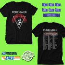 CONCERT 2019 FOREIGNER LIVE BLACK TEE DATES CODE EP02