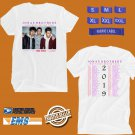 CONCERT 2019 JONAS BROTHERS HAPPINESS BEGINS TOUR WHITE TEE DATES CODE EP02