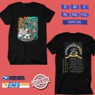CONCERT 2019 STRING CHEESE INCIDENT 25TH ANNIVERSARY BLACK TEE DATES CODE EP01