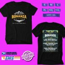 CONCERT 2019 BONANZA CAMPOUT FESTIVAL BLACK TEE DATES CODE EP02