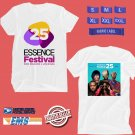 CONCERT 2019 ESSENCE 25TH JAM FESTIVAL WHITE TEE DATES CODE EP01