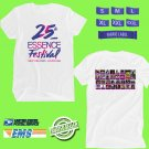 CONCERT 2019 ESSENCE 25TH JAM FESTIVAL WHITE TEE DATES CODE EP02