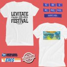 CONCERT 2019 LEVITATE FESTIVAL WHITE TEE DATES CODE EP01