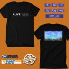CONCERT 2019 ALIVE MUSIC FESTIVAL BLACK TEE DATES CODE EP01