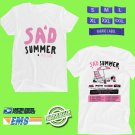 CONCERT 2019 SAD SUMMER FESTIVAL WHITE TEE DATES CODE EP01