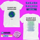 CONCERT 2019 VAMPIRE WEEKEND FATHER OF THE BRIDE N.AMERICA WHITE TEE DATES CODE EP01