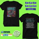 CONCERT 2019 A DAY TO REMEMBER RAISIN HELL THE HEARTLAND BLACK TEE DATES CODE EP01