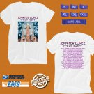 CONCERT 2019 JENNIFER LOPEZ ITS MY PARTY N.AMERICA WHITE TEE DATES CODE EP01