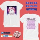 CONCERT 2019 JENNIFER LOPEZ ITS MY PARTY N.AMERICA WHITE TEE DATES CODE EP02