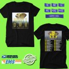 CONCERT 2019 THE MIGHTY O.A.R SUMMER BLACK TEE DATES CODE EP01