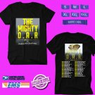 CONCERT 2019 THE MIGHTY O.A.R SUMMER BLACK TEE DATES CODE EP02