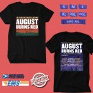 CONCERT 2019 AUGUST BURNS RED 10YEARS CONSTELLATION AUSTRALIA BLACK TEE DATES CODE EP01