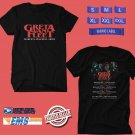 CONCERT 2019 GRETA VAN FLEET MARCH OF THE PEACEFUL ARMY AUSTRALIA BLACK TEE DATES CODE EP02