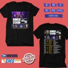 CONCERT 2019 RINGO STARR THE 30TH ANNIV ALL STAR BAND N.AMERICA BLACK TEE DATES CODE EP02