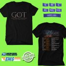 CONCERT 2019 GAME OF THRONES LIVE CONCERT EXPERIENCE RAMIN DJAWADI BLACK TEE DATES CODE EP01