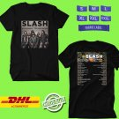 CONCERT 2019 SLASH feat MYLES KENNEDY&THE CONSPIRATORS BLACK TEE DATES CODE EP01