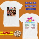 CONCERT 2019 BOYS OF SUMMER USA WHITE TEE DATES CODE EP02