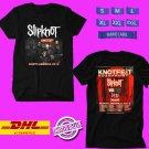 CONCERT 2019 SLIPKNOT KNOTFEST ROADSHOW TOUR BLACK TEE DATES CODE EP01