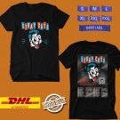 CONCERT 2019 THE STRAY CATS 40TH ANNIVERSARY WORLD TOUR BLACK TEE DATES CODE EP02