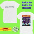 MUSIC FESTIVAL 2019 OF REAL STREET ON AUGUST WHITE TEE LINEUP CODE EP01