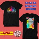 MUSIC FESTIVAL 2019 OF NORTH COAST ON AUGUST BLACK TEE LINEUP CODE EP01