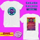 MUSIC FESTIVAL 2019 OF 515 ALIVE ON AUGUST WHITE TEE LINEUP CODE EP01