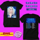 CONCERT 2019 CHER HERE WE GO AGAIN UNITED KINGDOM TOUR BLACK TEE DATES CODE EP01