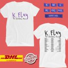CONCERT 2019 K. FLAY THE SOLUTIONS TOUR WHITE TEE DATES CODE EP02