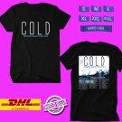 CONCERT 2019 COLD BROKEN HUMAN USA TOUR BLACK TEE DATES CODE EP01
