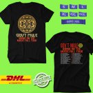 CONCERT 2019 GOV'T MULE BRING ON THE MUSIC TOUR BLACK TEE DATES CODE EP01