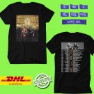 CONCERT 2019 MARY J BLIGE AND NAS TOGETHER TOUR BLACK TEE DATES CODE EP01