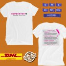 FESTIVAL 2019 HOPSCOTCH 10TH ANNUAL WHITE TEE LINEUP CODE EP01