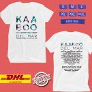 FESTIVAL 2019 KAABOO DEL MAR WHITE TEE LINEUP CODE EP01