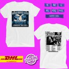 CONCERT 2019 DROPKICK MURPHY AND CLUTCH AMERICAN TOUR WHITE TEE LINEUP CODE EP01