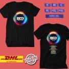 CONCERT 2019 ZEDD ORBIT EUROPE TOUR BLACK TEE LINEUP CODE EP01
