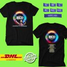 CONCERT 2019 ZEDD ORBIT EUROPE TOUR BLACK TEE LINEUP CODE EP02