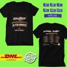 CONCERT 2019 SKILLET AND ALTER BRIDGE VICTORIOUS SKY TOUR BLACK TEE LINEUP CODE EP01
