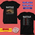 CONCERT 2019 BASTILLE DOOM DAYS PART I TOUR BLACK TEE LINEUP CODE EP01