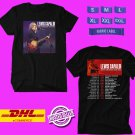 CONCERT 2019 LEWIS CAPALDI NORTH AMERICAN FALL TOUR BLACK TEE LINEUP CODE EP01