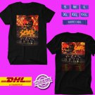 TOUR 2019 SLAYER THE FINAL CAMPAIGN N.AMERICAN BLACK TEE W LINEUP CODE EP01