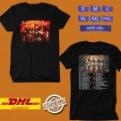 TOUR 2020 SABATON THE GREAT WORLD TOUR BLACK TEE W LINEUP CODE EP02