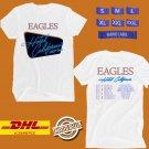 TOUR 2020 EAGLES HOTEL CALIFORNIA USA TOUR WHITE TEE W LINEUP CODE EP01