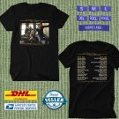 TOUR 2020 TOOL BAND ON UNITED STATES BLACK TEE W DATES CODE EP01