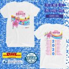 TOUR 2020 JOJO SIWA DREAM N.AMERICAN TOUR W THE BELLES WHITE TEE W DATES CODE EP02
