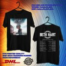 TOUR 2020 BETH HART WAR IN MY MIND UK TOUR BLACK TEE W DATES CODE EP01