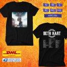 TOUR 2020 BETH HART WAR IN MY MIND WORLD TOUR BLACK TEE W DATES CODE EP02
