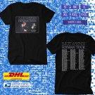 TOUR 2020 DAVID FOSTER HITMAN US TOUR BLACK TEE W DATES CODE EP01
