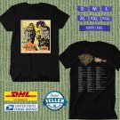 TOUR 2020 DARYL HALL AND JOHN OATES LIVE IN CONCERT BLACK TEE W DATES CODE EP01