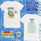 TOUR 2020 PEPPER STEP TO THE LOCAL MOTION WHITE TEE W DATES CODE EP01