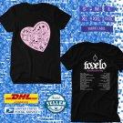 TOUR 2020 TOVE LO SUNSHINE KITTY WORLD TOUR BLACK TEE W DATES CODE EP02